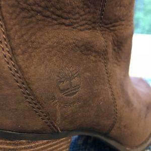 Timberland Shoes - Timberland Slightly Worn Waterproof Heeled Boots